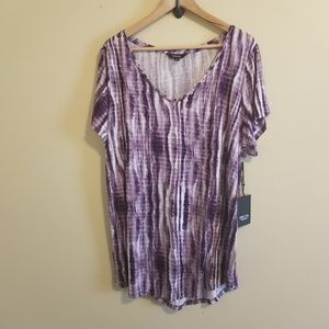 Simply Vera Top size 1X
